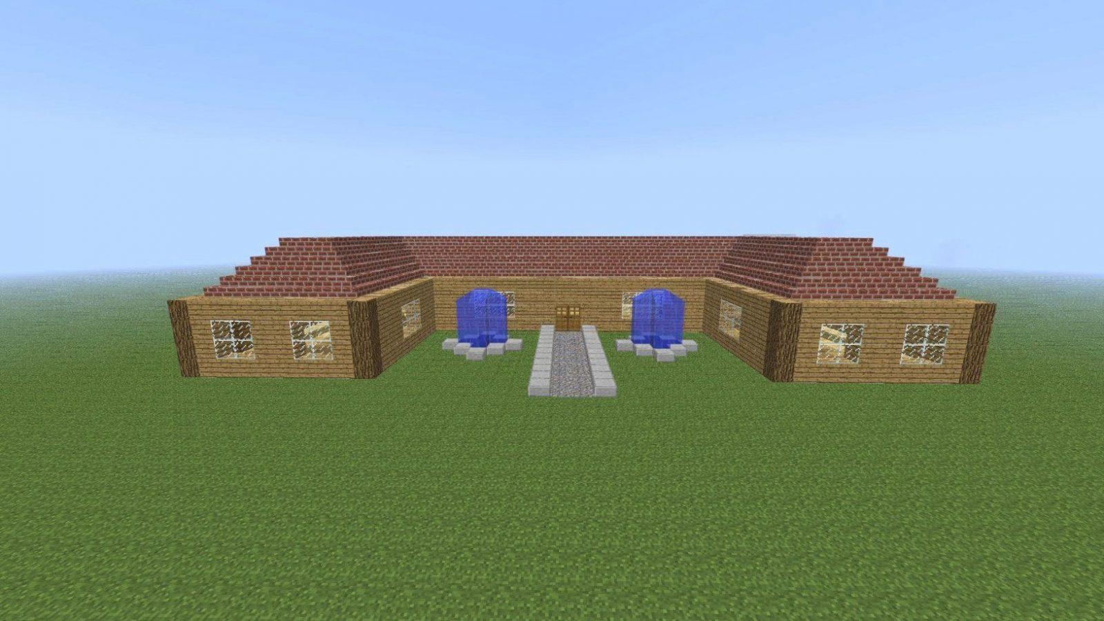 Minecraft Häuser Nachbauen Mit Minecraft Modernes Zwei Familien Avec von Minecraft Häuser Zum Nachbauen Anleitung Bild