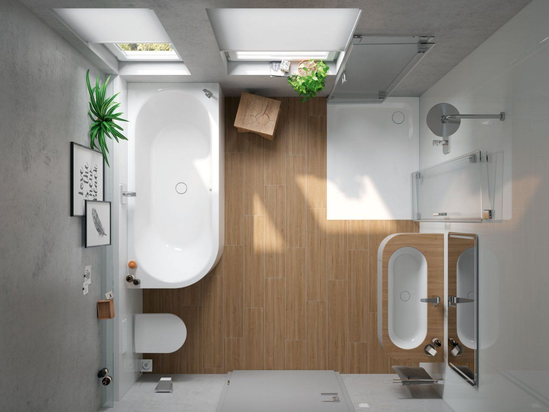Minibad Oder Wohlfühloase Intelligente Lösungen Für Kleine Bäder von Mini Badewannen Kleine Bäder Bild