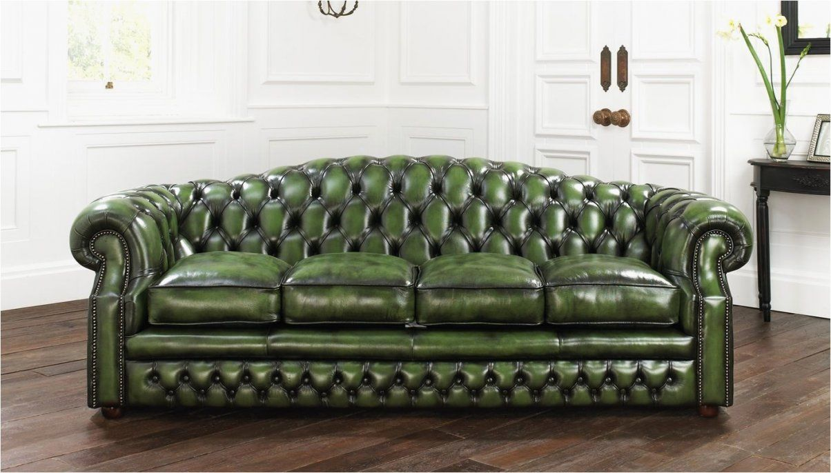 Minimalist Green Chesterfield Sofa New  Best Sofa Design Ideas von Green Leather Chesterfield Sofa Bild