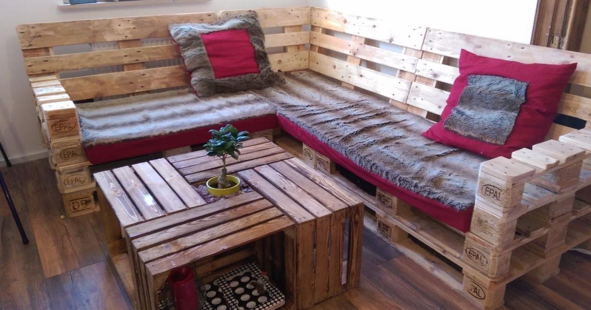 Möbel Aus Europaletten Selber Bauen Blog von Lounge Möbel Selber Bauen Anleitung Bild