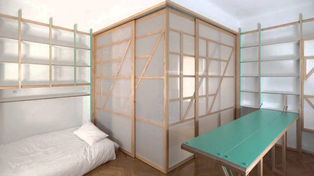 Möbel Aus Wand Klappen  Youtube von Kleine Wohnung Einrichten Intelligente Wände Bild