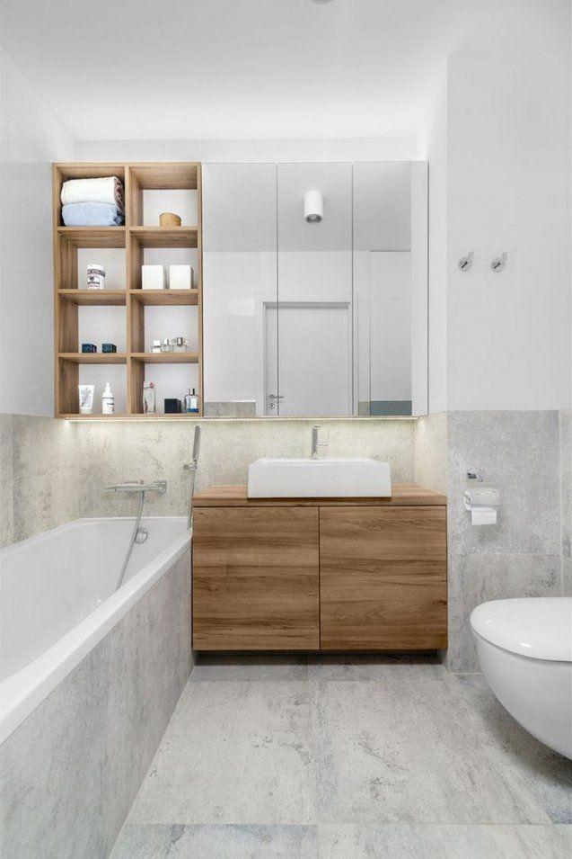 Moderne Badezimmergestaltung  30 Ideen Für Kleine Bäder von Kleine Bäder Gestalten Beispiele Photo