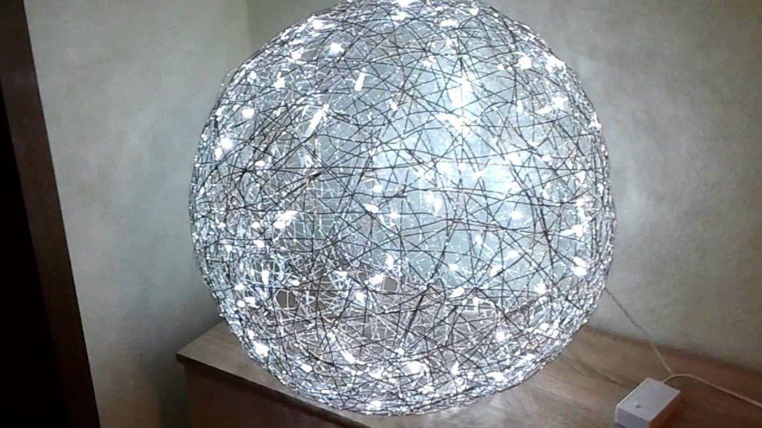 Moderne Drahtkugel Aus Aludraht Ø 55 Cm  Youtube von Lampenschirm Drahtgestell Selber Machen Photo