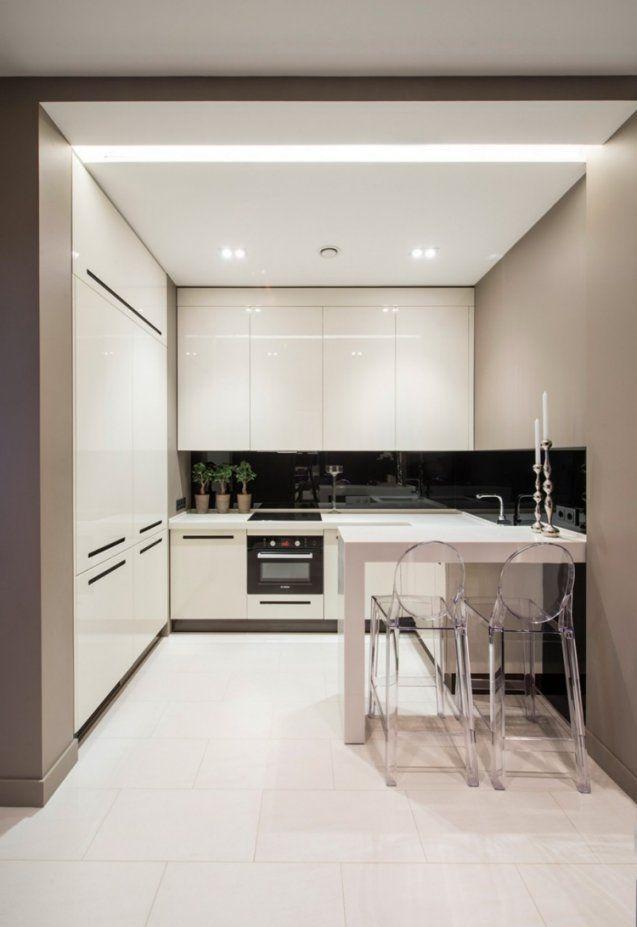 Moderne Küche Hochglanz Weiss Beeindruckend On Modern Für Küchen In von Moderne Küche Hochglanz Weiss Bild