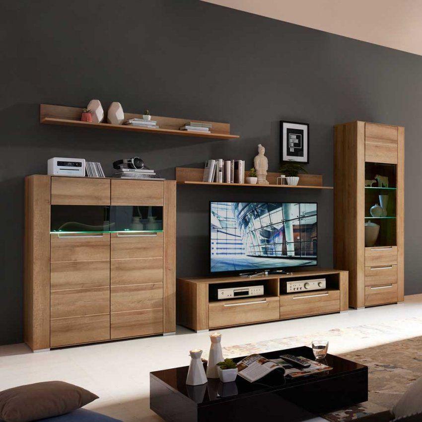 Moderne Wohnwände Günstig Kaufen  Pharao24™ von Wohnwand 220 Cm Breit Photo