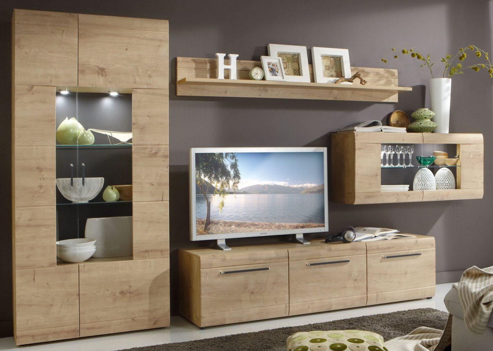 Moderne Wohnzimmer Schrankwand Von Wohnzimmer Schrankwand Selbst  Zusammenstellen Bild