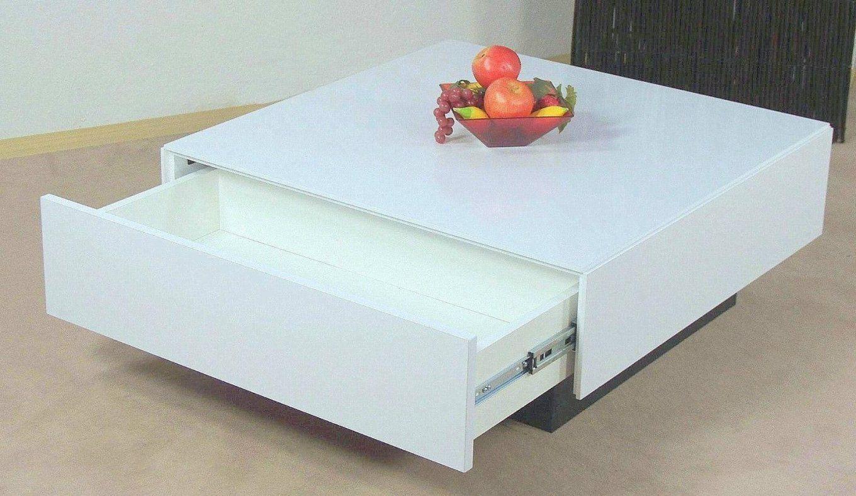 """Moderner Couchtisch Schubkasten """" Hochglanz"""" Weiß Wohnzimmertisch von Moderne Couchtische Weiß Hochglanz Photo"""