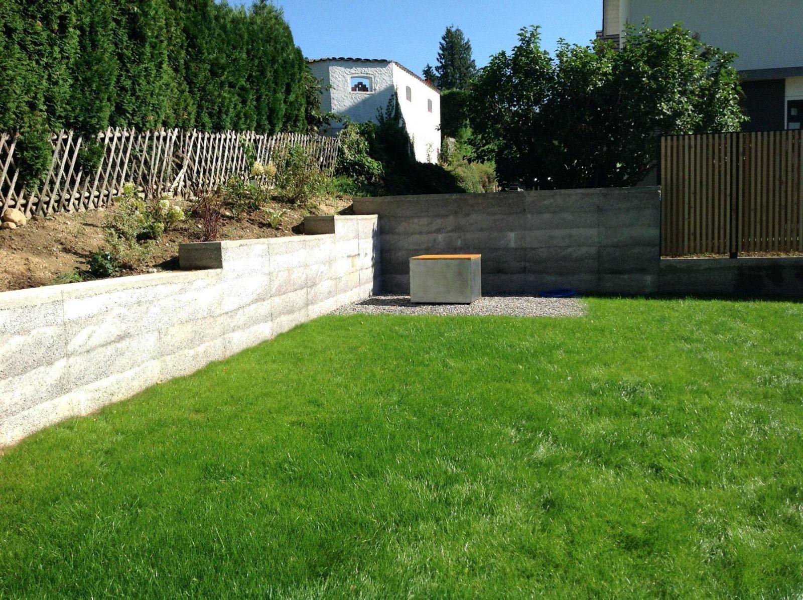 Moderner Holzzaun Selber Bauen Sichtschutz Idee 7 Garten Zaun von Garten Sichtschutz Selber Bauen Bild