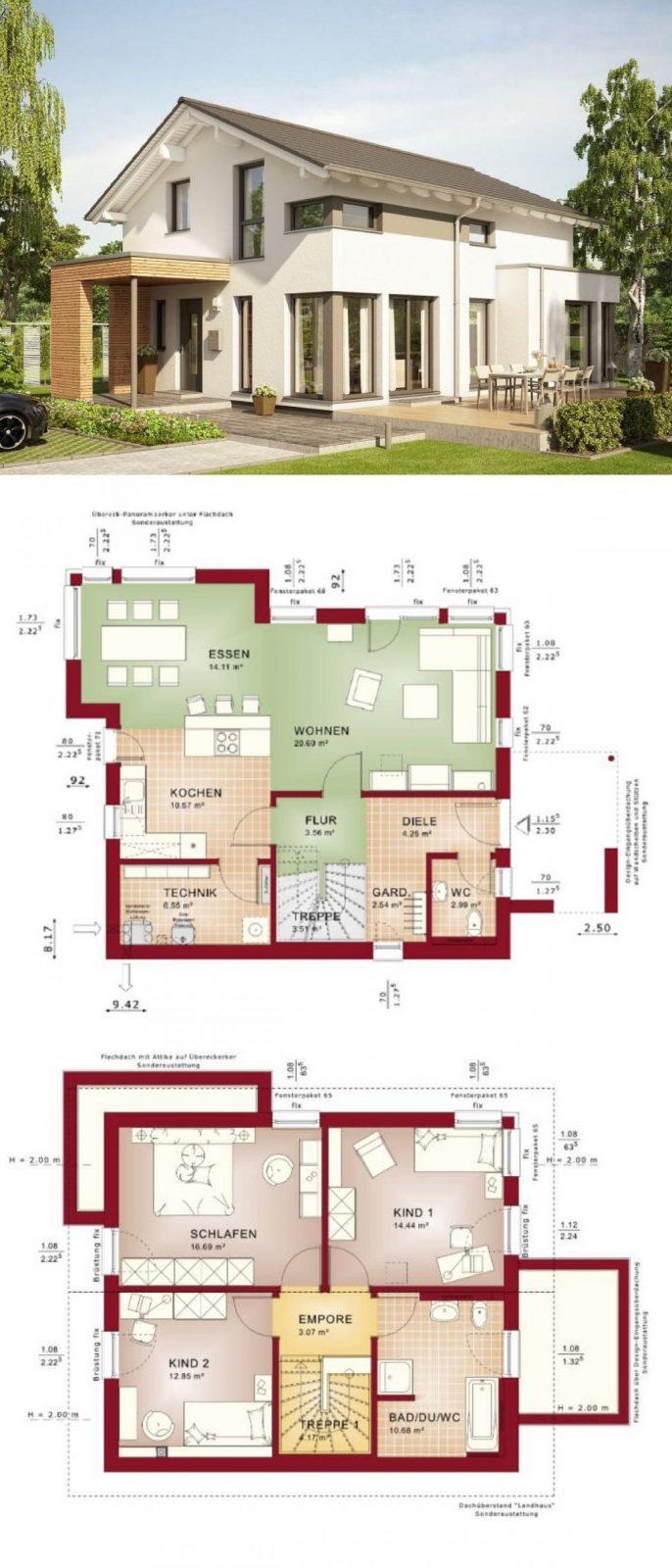 Modernes Einfamilienhaus Design Mit Satteldach Architektur von Bien Zenker Edition 1 Photo