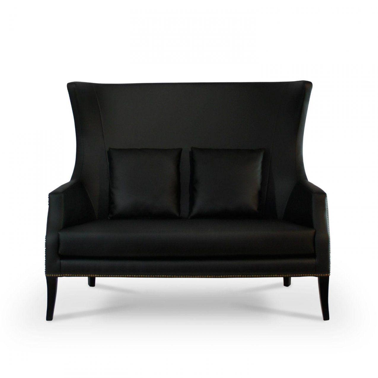 Modernes Sofa  Kunstleder  2 Plätze  Mit Hoher Rückenlehne von Sofa Mit Hoher Rückenlehne Photo