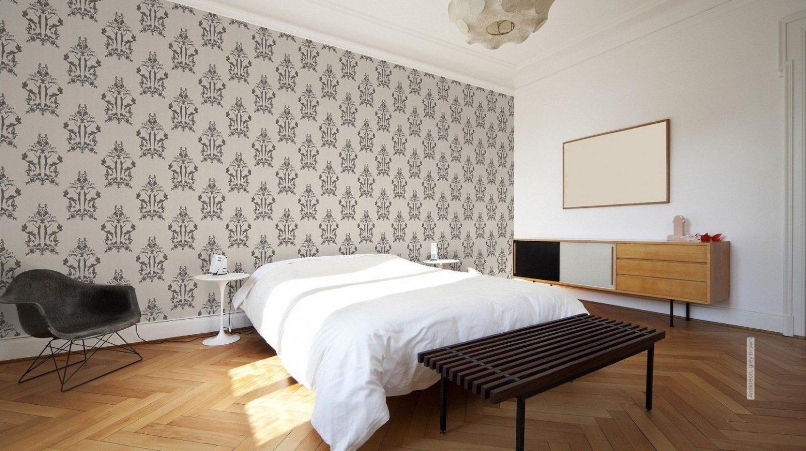 Modernes Tapeten Design Ideen Schlafzimmer Modell Prt Neueste von Tapeten Design Ideen Schlafzimmer Bild