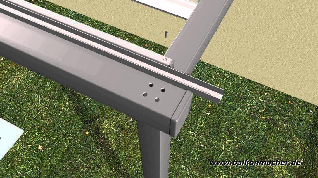 Montagevideo Anbaubalkon Balkonmacher  Youtube von Anbaubalkon Holz Selber Bauen Photo