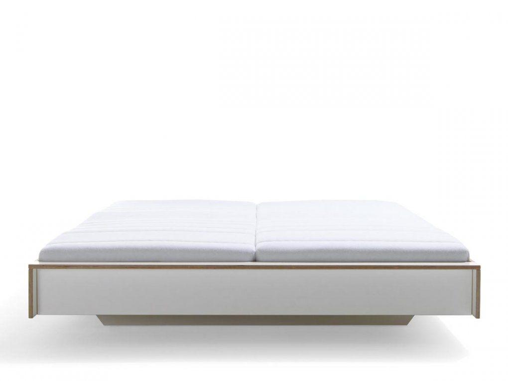 Müller Möbelwerkstätten Flai Bett 180 X 200 Ohne Kopfteil Weiß von Bett Weiß Ohne Kopfteil Photo