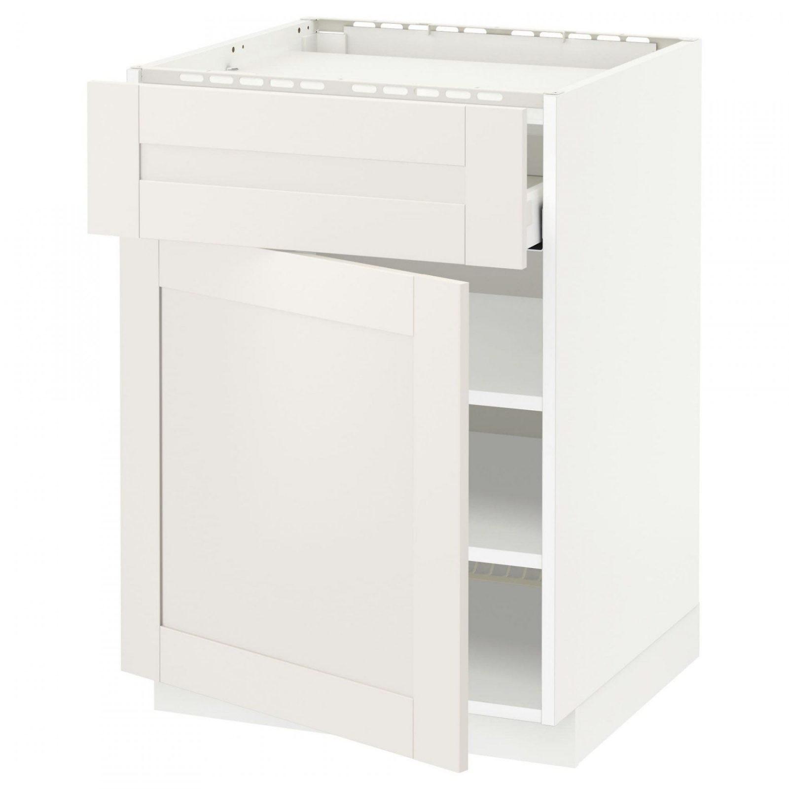 Naturfichte Küchenunterschränke Online Kaufen  Möbelsuchmaschine von Küchenschrank 35 Cm Tief Bild