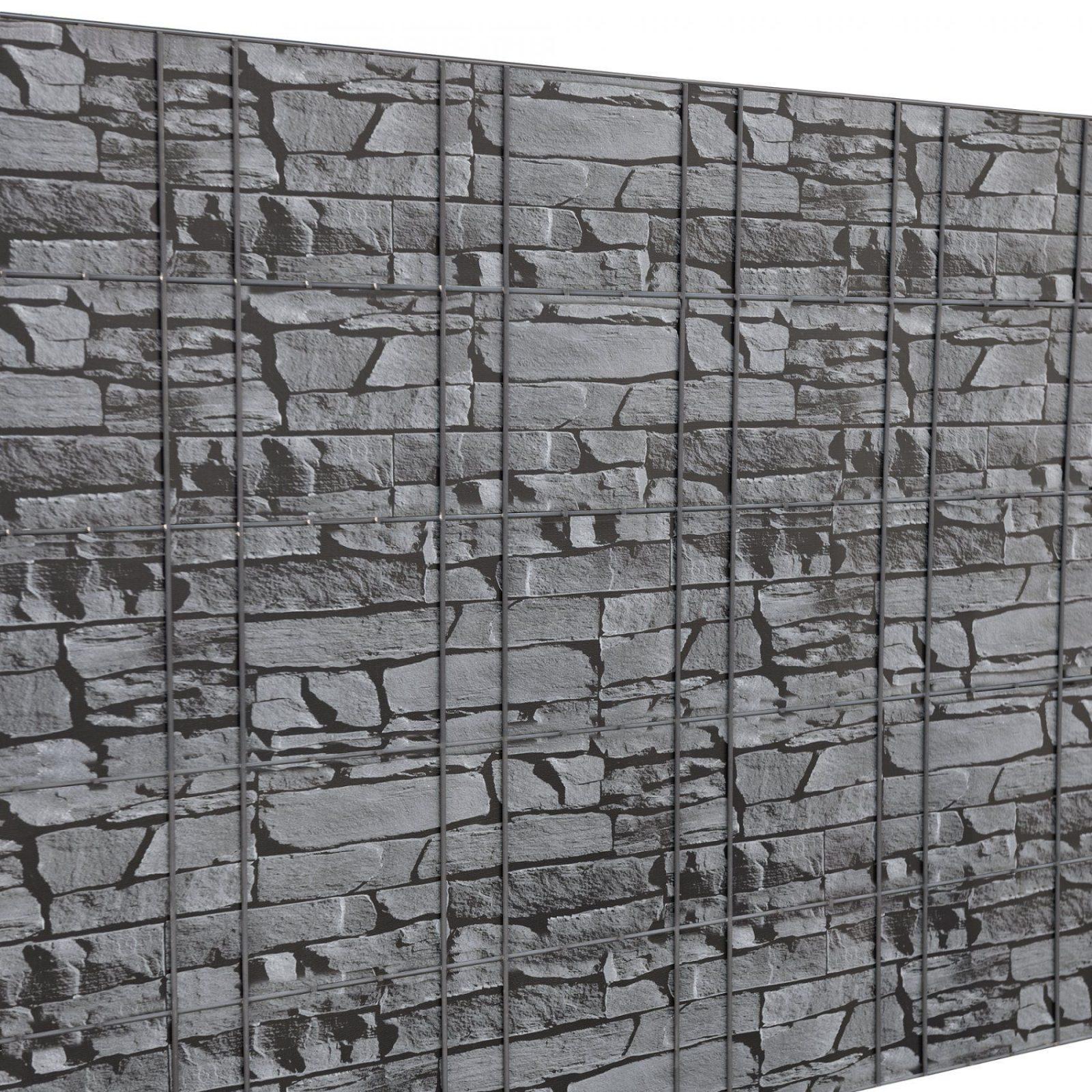 Neuhaus]® 35M Sichtschutz Zaunfolie Pvc Windschutz Doppelstabmatten von Pvc Sichtschutz Für Doppelstabmatten Photo