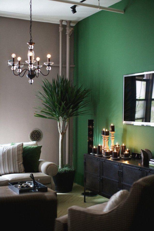 Wand Grün Streichen Ideen | Haus Design Ideen