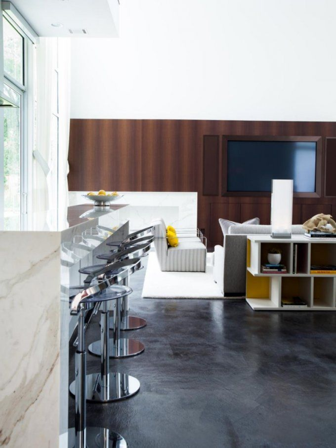 Offene Küche Mit Wohnzimmer  Pro Contra Und 50 Ideen von Ideen Offene Küche Wohnzimmer Bild