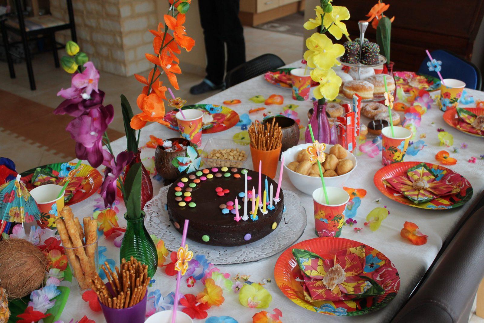 Online Izleriz Hawaii Party Deko Selber Machen von Tischdeko Kindergeburtstag Selber Basteln Photo