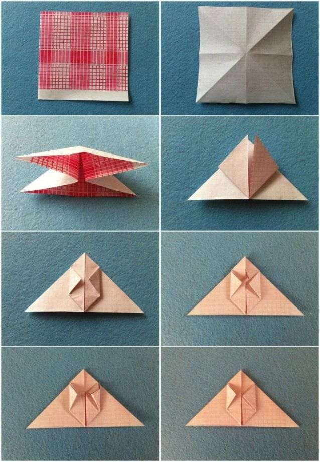 Origami Blume Basteln Mit Origami Zu Ostern Falten 10 Einfache Und von Einfache Blumen Falten Anleitung Photo