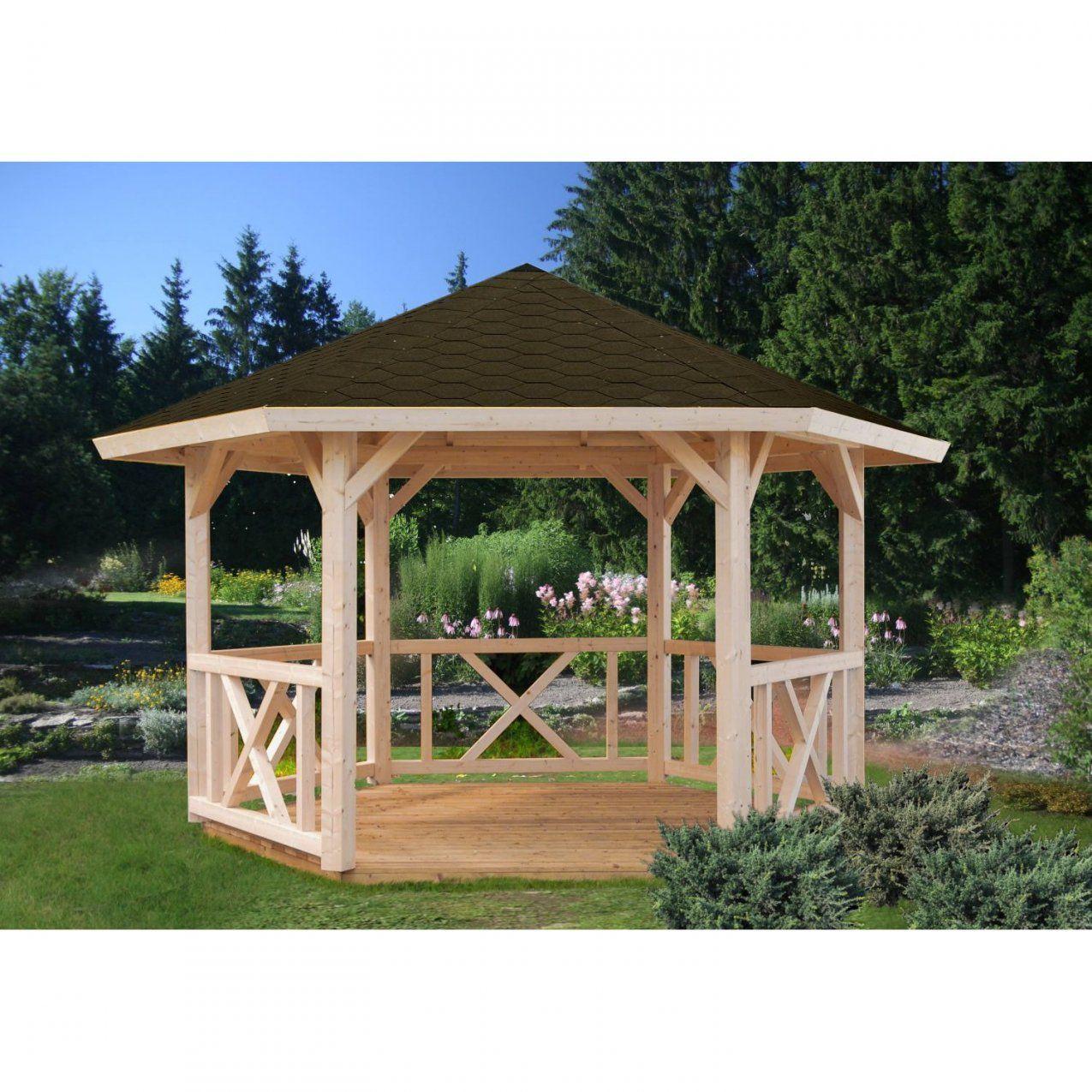 Palmako Holzpavillon Betty Sechseckig Kaufen Bei Obi von Pavillon 6 Eckig Holz Bild