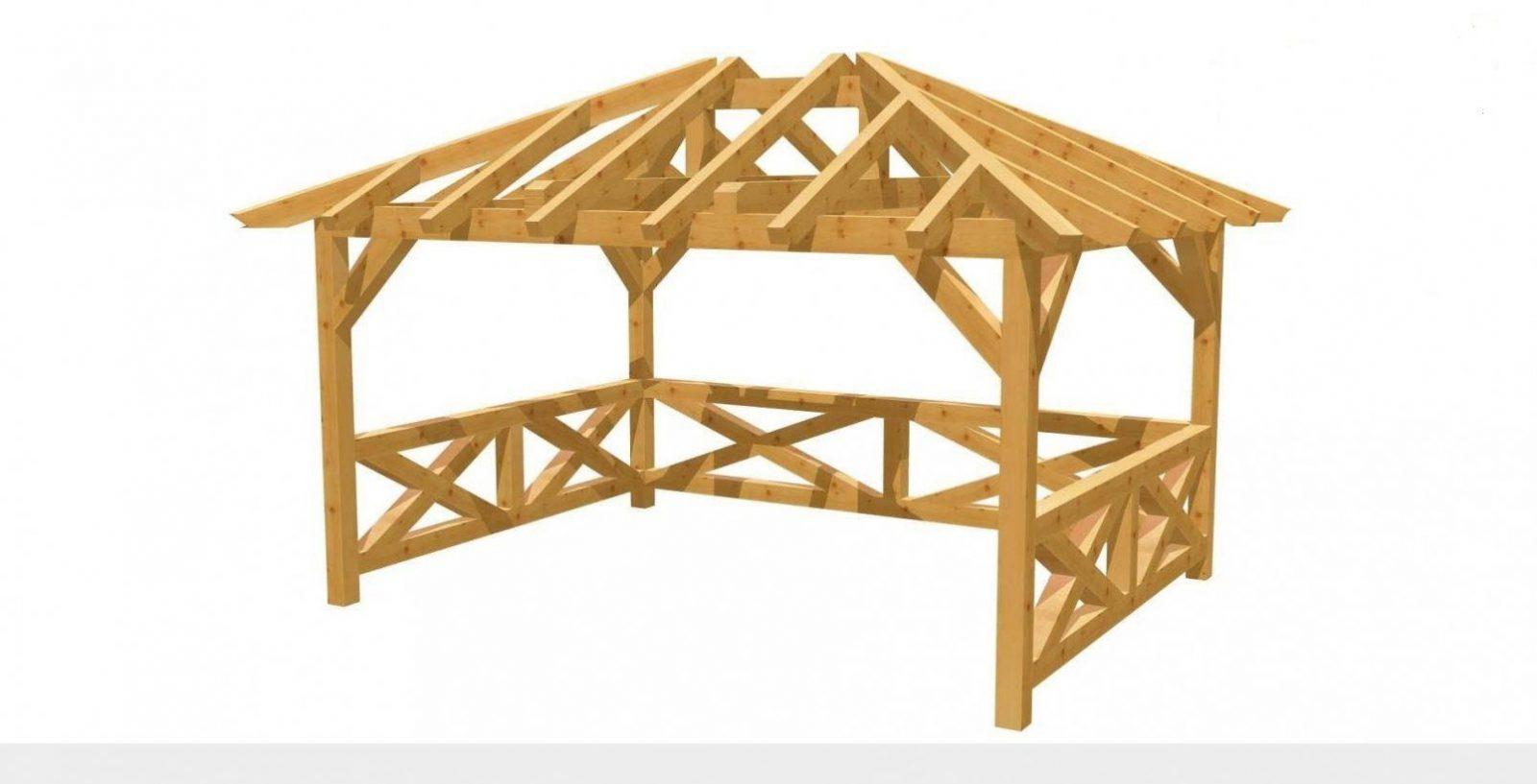 Pavillon Atemberaubend Pavillon Selber Bauen Ideen Fesselnd von Holz Pavillon 3X3 Selber Bauen Photo