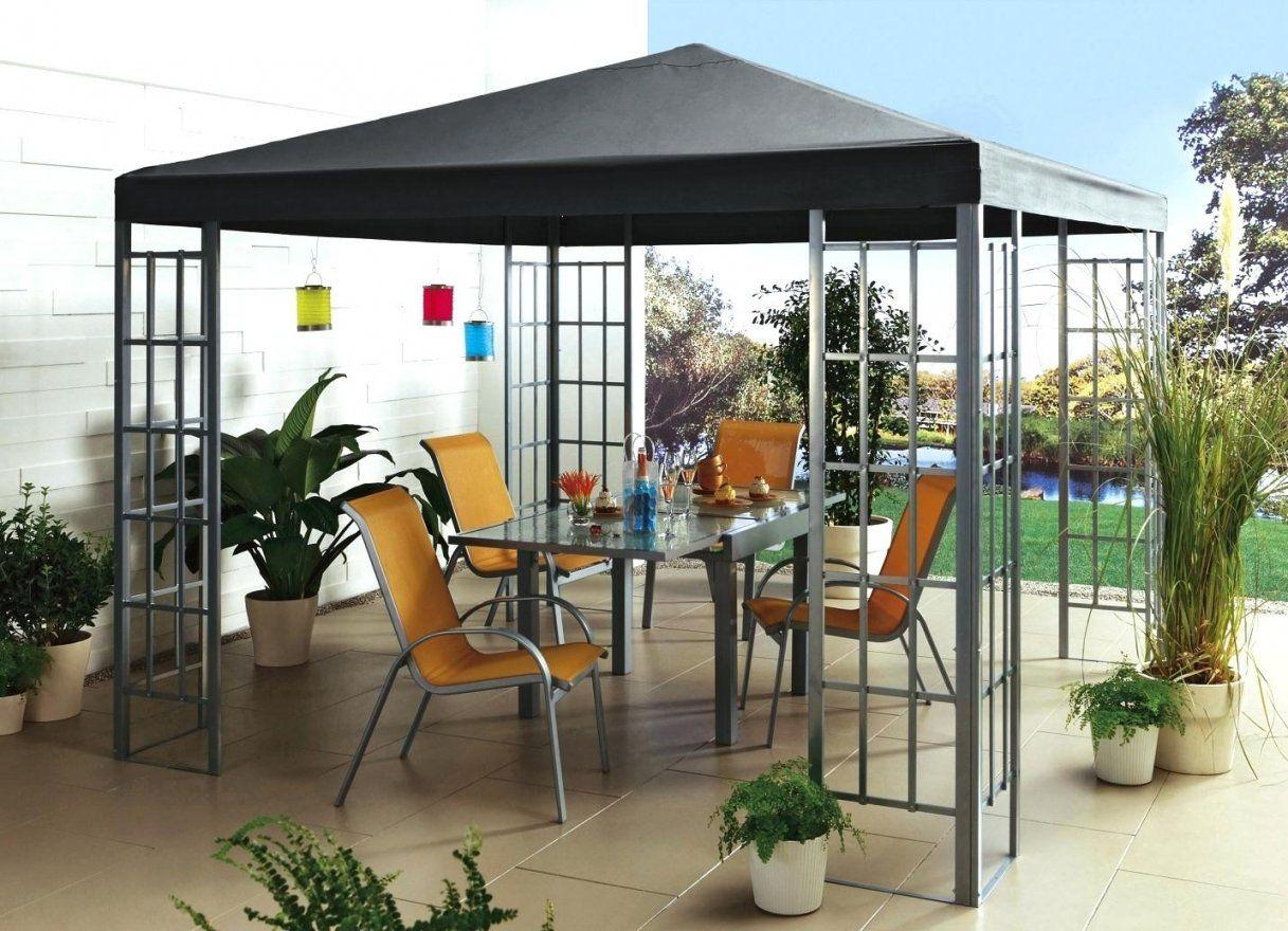 Pavillon Metall 3×4  Haus Dekoration von Pavillon Metall Festes Dach Photo