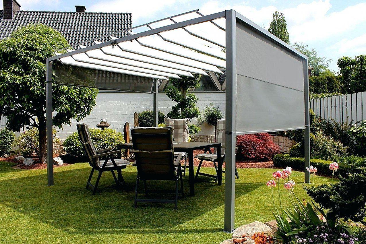Pavillon Mit Faltdach Garten Latest Pavillion Selber Bauen von Sonnenschutz Pavillon Mit Faltdach Photo