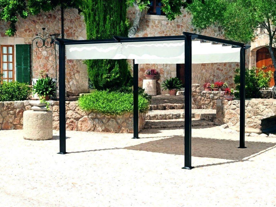 Pergola Sonnenschutz Landi Gartenmobel 2015 Fa 1 4 R Balkon Bu45 von Sonnenschutz Pavillon Mit Faltdach Bild