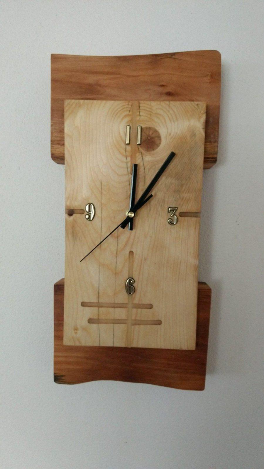 Pin Von Krzysztof Krupski Auf Zegary  Pinterest  Uhren Moderne von Wanduhr Aus Holz Selber Bauen Bild