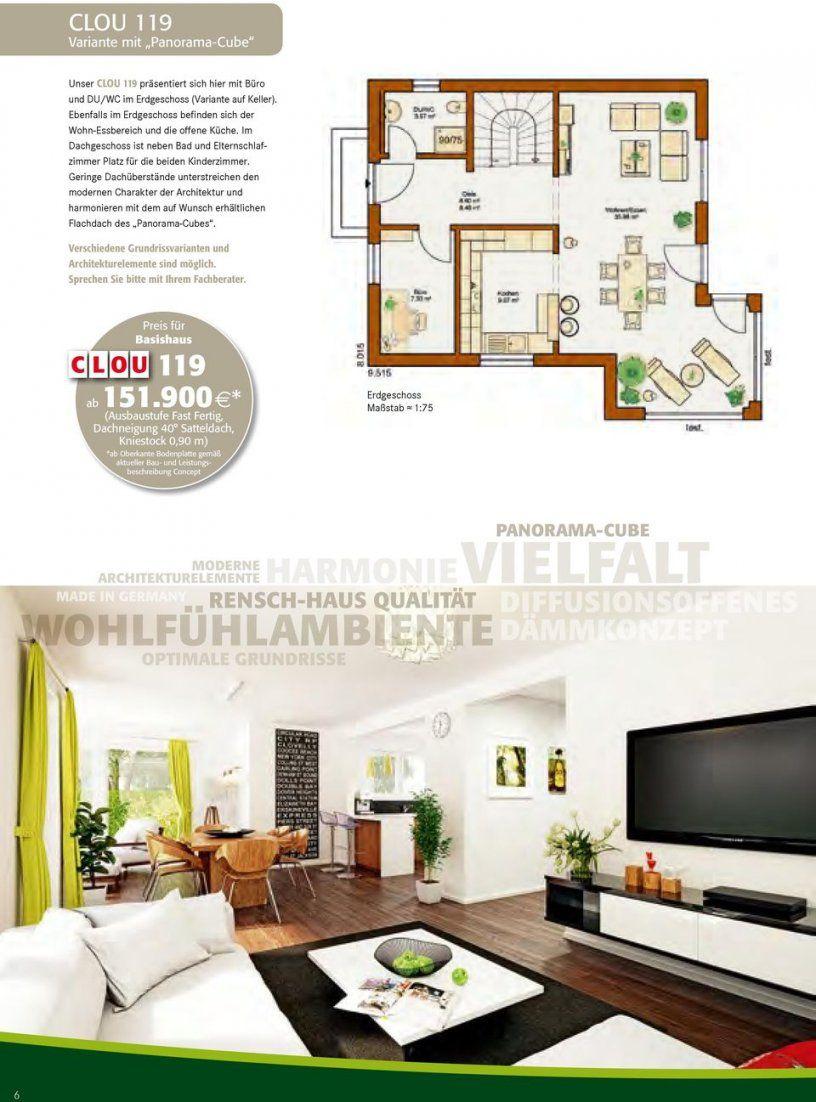 Planen Bauen Leben C L O U Die Cleveren Häuser Von Renschhaus  Pdf von Rensch Haus Ausbaustufe Fast Fertig Photo