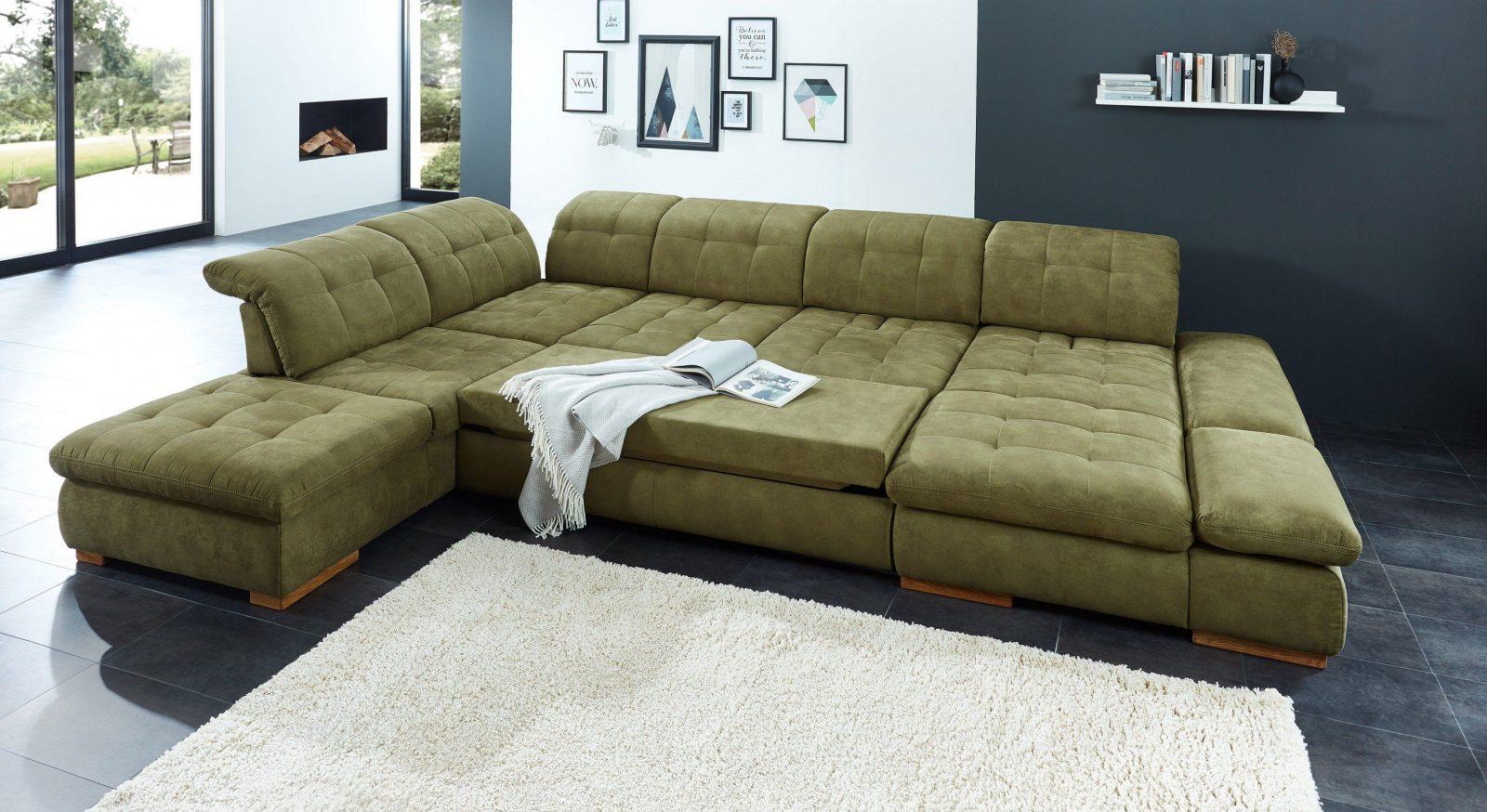 Poco Polstermöbel Houston Sofa In Uform Grün  Möbel Letz  Ihr von Wohnlandschaft U Form Poco Photo
