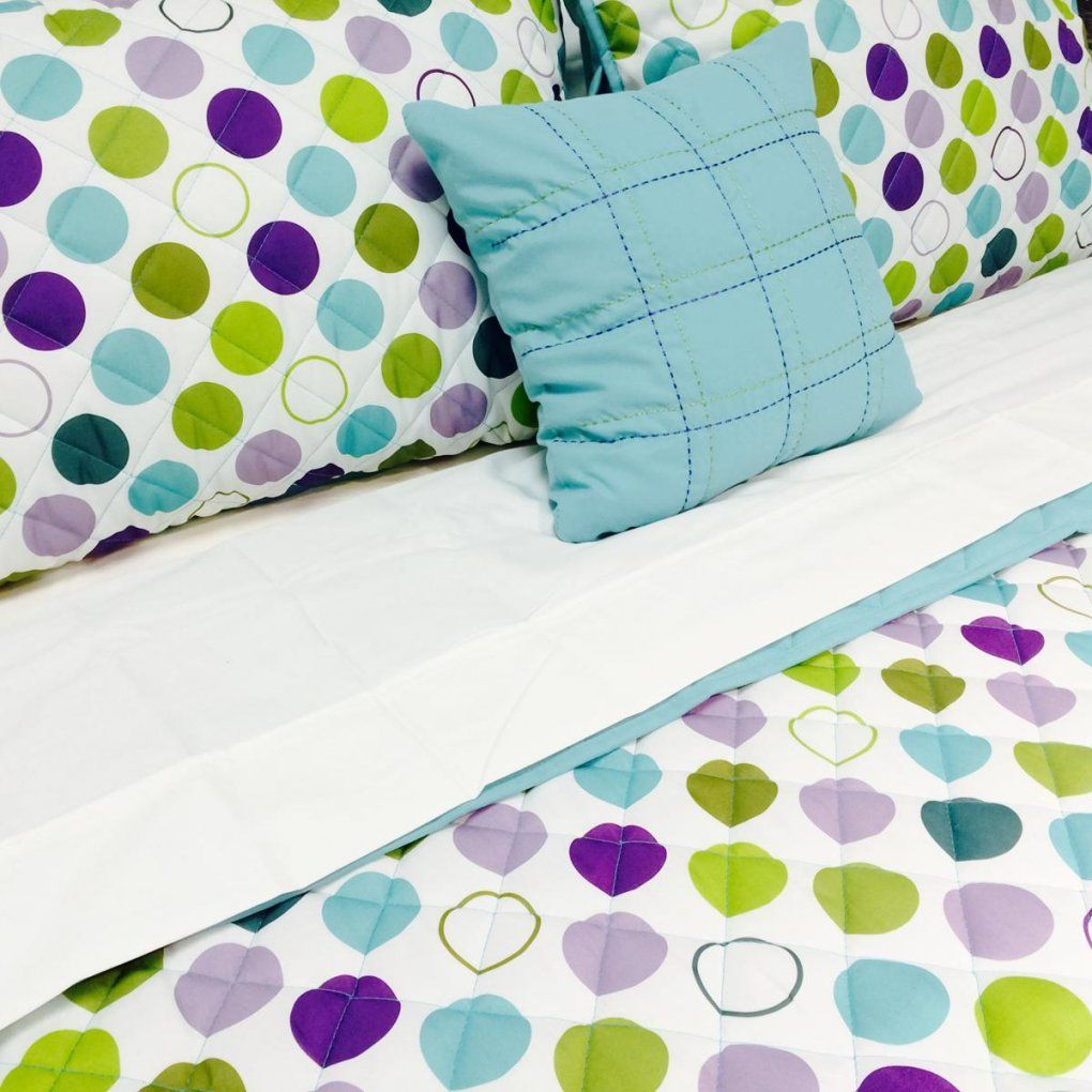 Polka Dots Home Decorating Ideas To Tastefully Dab Your House von Polka Dotted Bed Sheets Bild