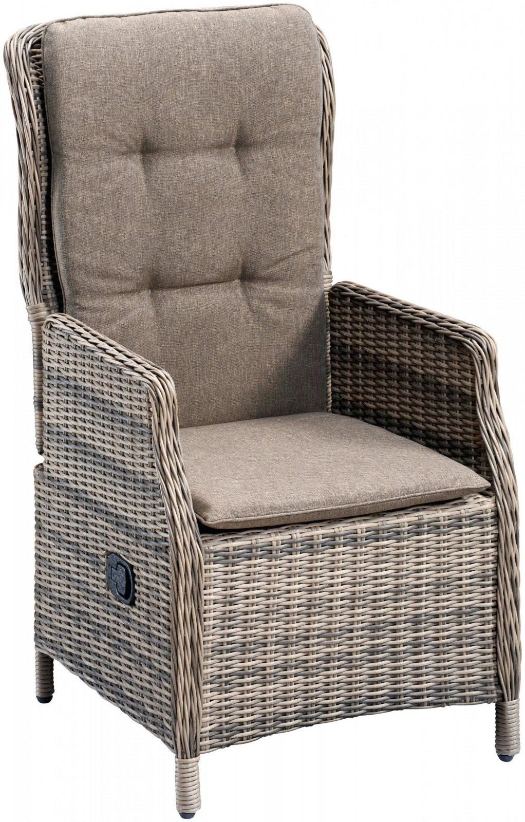 Polyrattan Sessel Verstellbarer Ra 1 4 Ckenlehne Genial Ehrfa von Polyrattan Sessel Verstellbarer Rückenlehne Bild