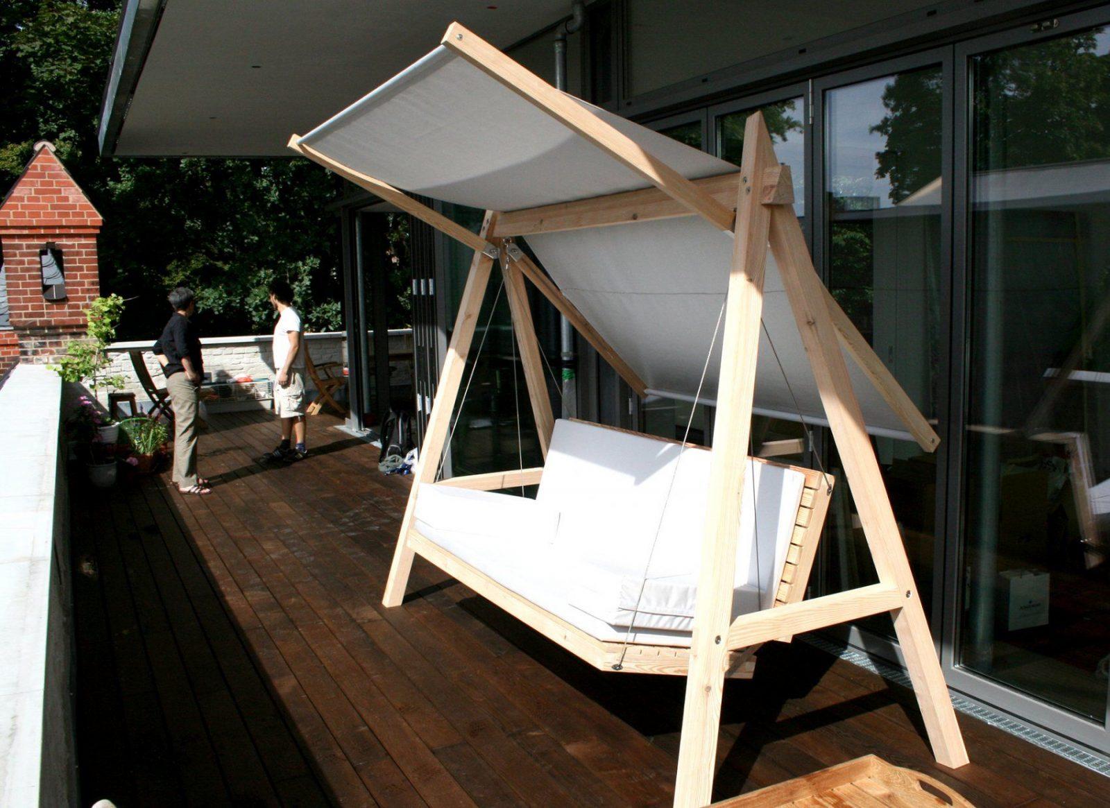 Pool22Hollywoodschaukelgraugrauk02  Pool22 von Hollywoodschaukel Selber Bauen Aus Holz Bild