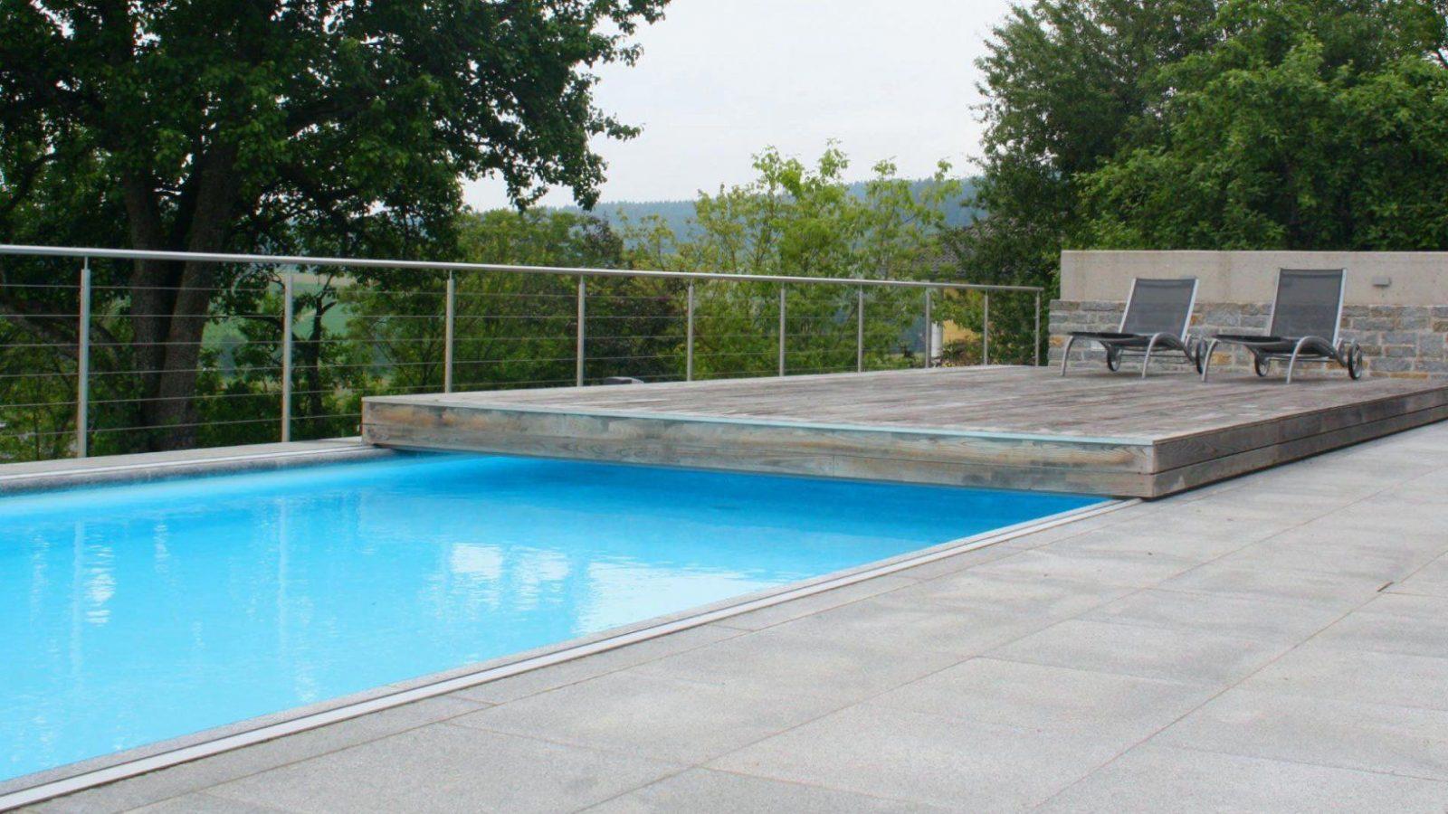 Poolabdeckung Begehbar Terrasse Preis Flache Begehbare Flash von Pool Deck Selber Bauen Bild