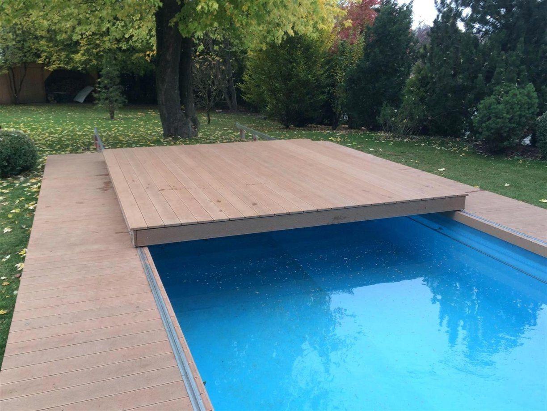 Poolabdeckung Begehbar Terrasse Preis Flache Begehbare Flash von Pool Winterabdeckung Selber Bauen Bild