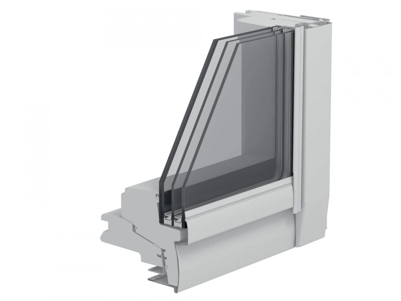 Projektionsdachfenster  Schwing  Holz  3Fachverglasung von Velux 3 Fach Verglasung Bild