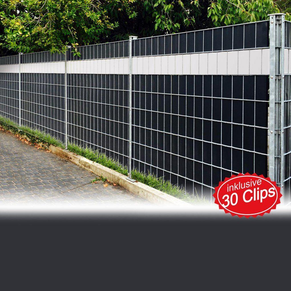 Pvc Sichtschutz Sichtschutzfolie Windschutz Doppelstabmatten Zaun von Pvc Sichtschutz Für Doppelstabmatten Bild