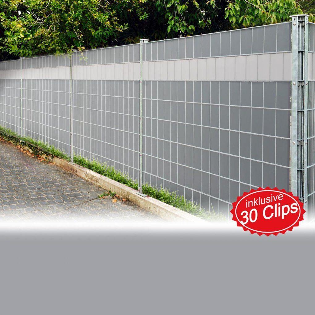 Pvc Sichtschutz Sichtschutzfolie Windschutz Doppelstabmatten Zaun von Pvc Sichtschutz Für Doppelstabmatten Photo