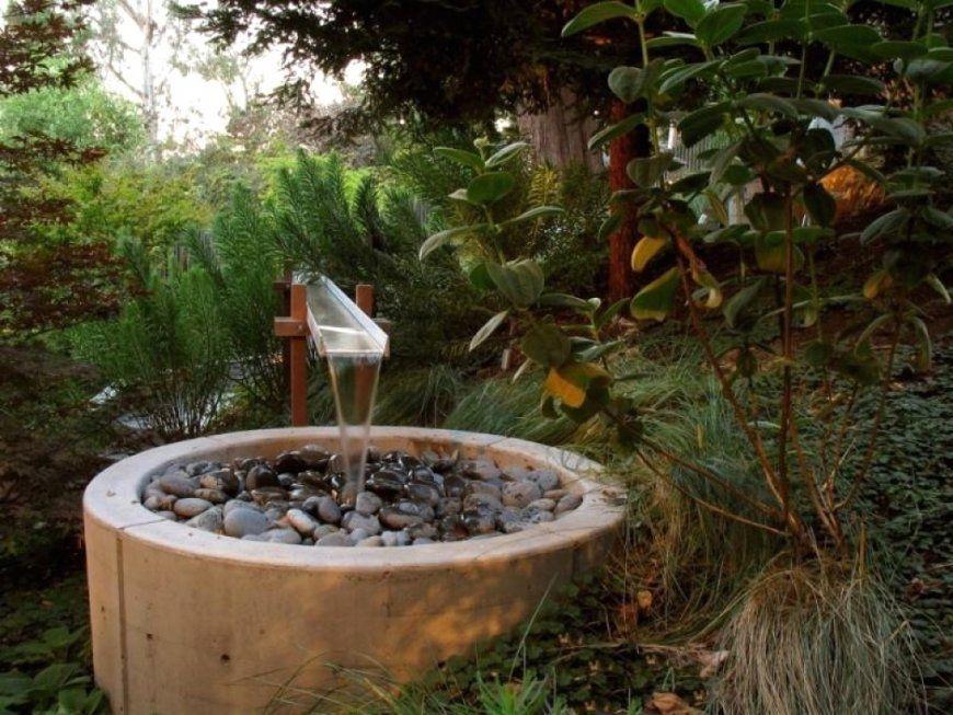 Quellstein Brunnen Selber Bauen von Garten Springbrunnen Selber Bauen Bild