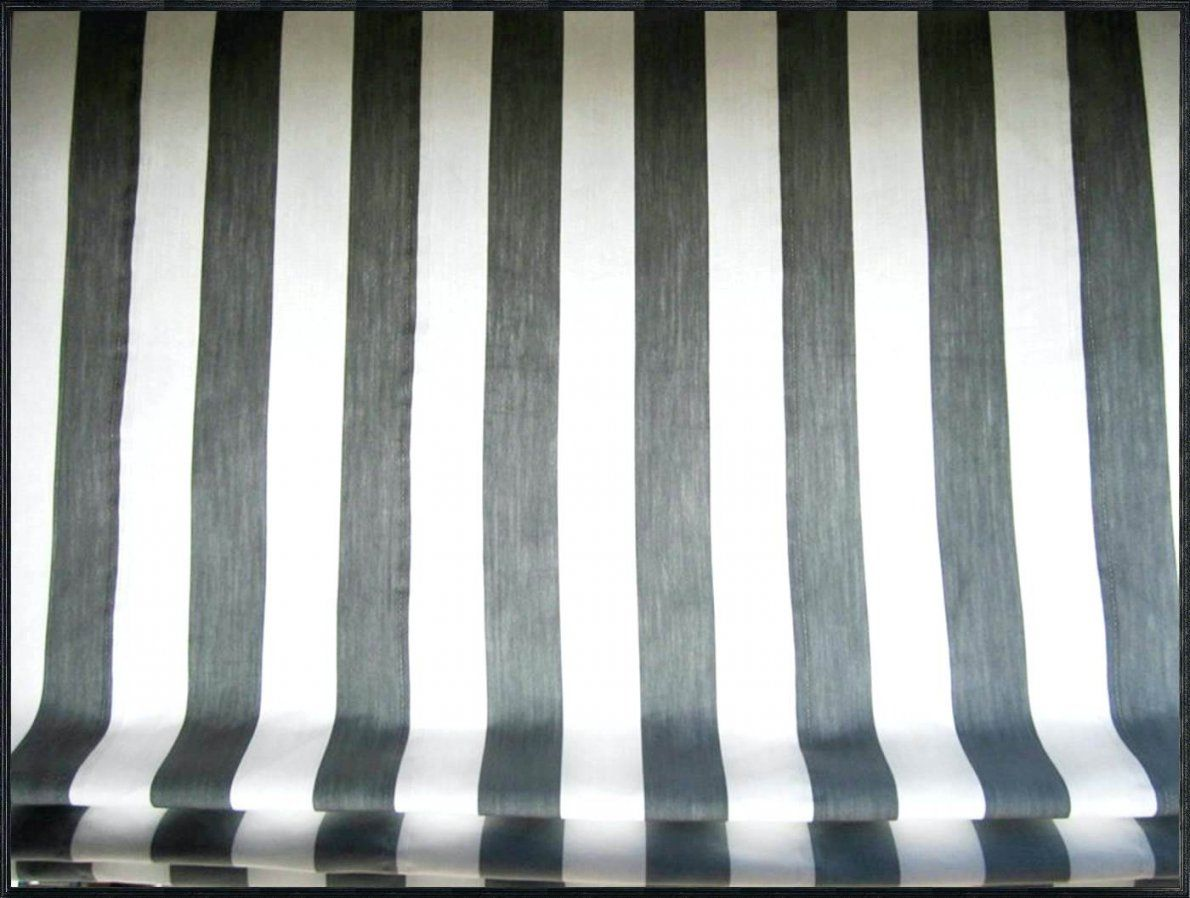 Raffrollo Streifen Rollo Schlaufen Weia Transparent Mit Gra 1 4 Nen von Raffrollo Schwarz Weiß Gestreift Photo