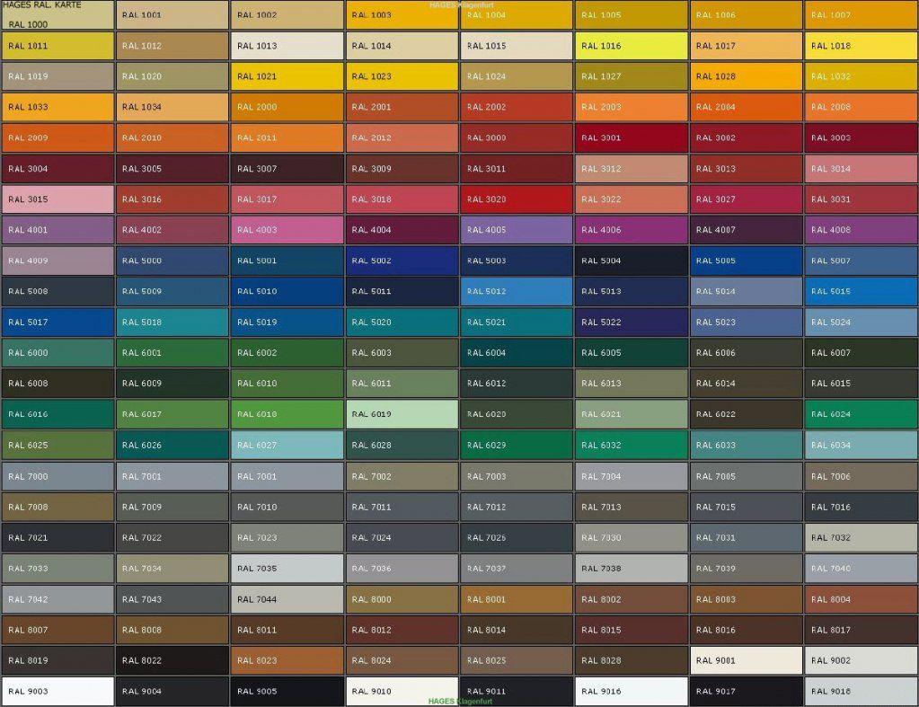 Ral Farben Alle Ideen Über Home Design Avec Farbtabelle Metallic von Ral Farben Selber Mischen Photo