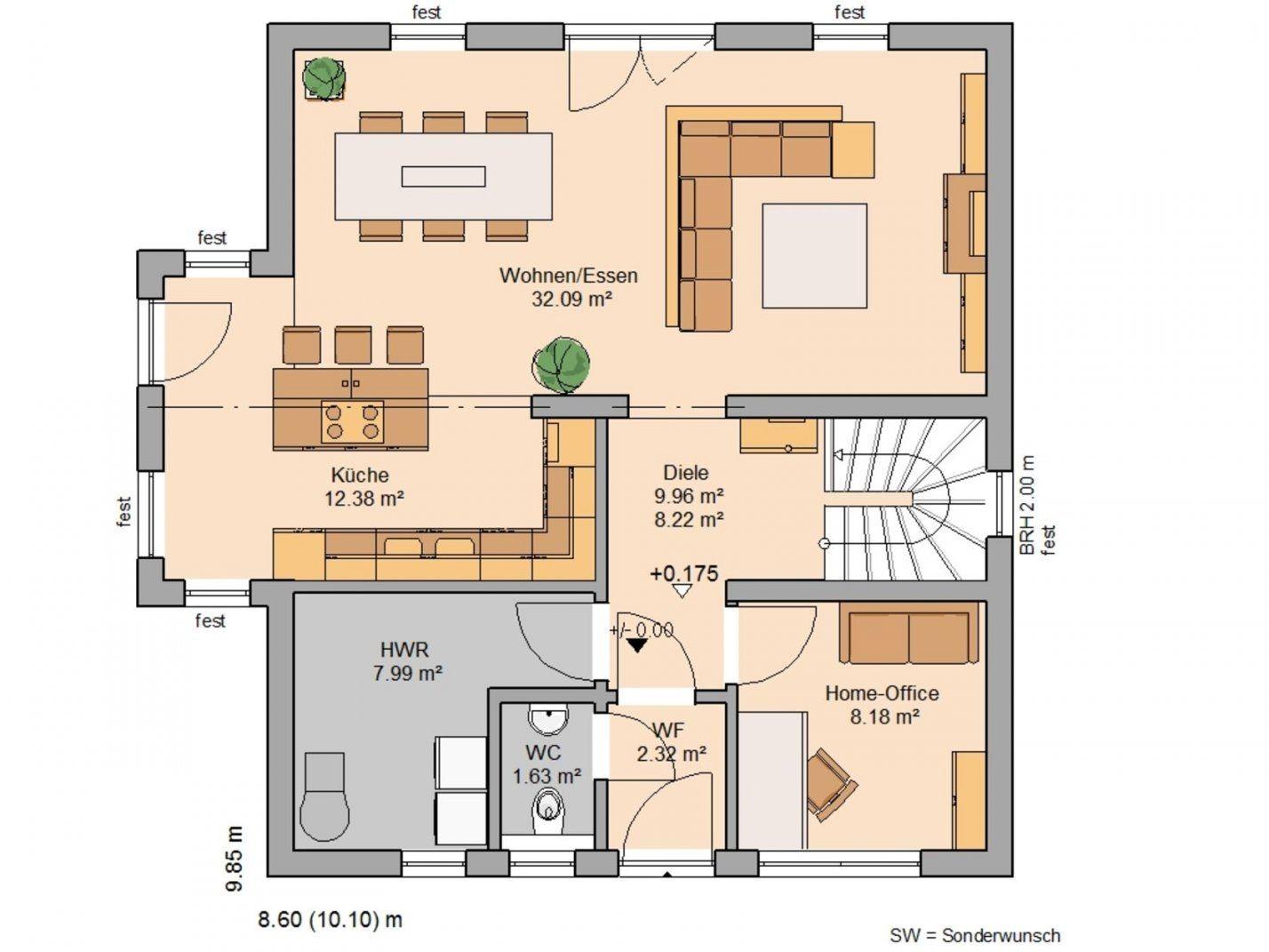 Raumaufteilung Haus von Grundriss Einfamilienhaus 150 Qm Photo
