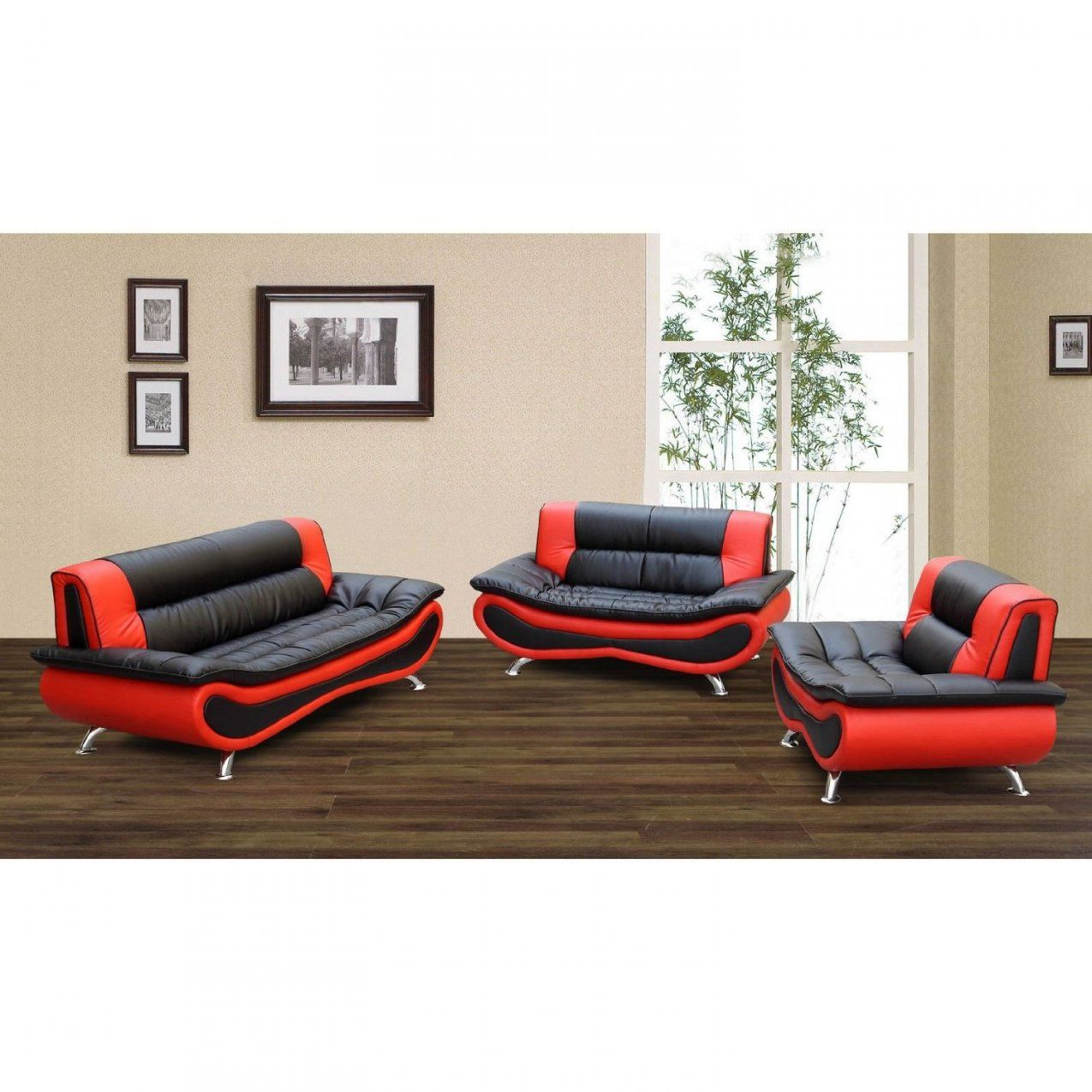 Red And Black Furniture For Living Room Luxury Firestone Red Black 2 von Red And Black Furniture Photo