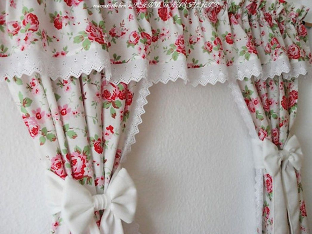 Romantische Gardinen Schönheit Zeichnung 308969 E2 99 A55 Tlg von Landhausgardinen Romantische Raffgardinen Rosen Photo