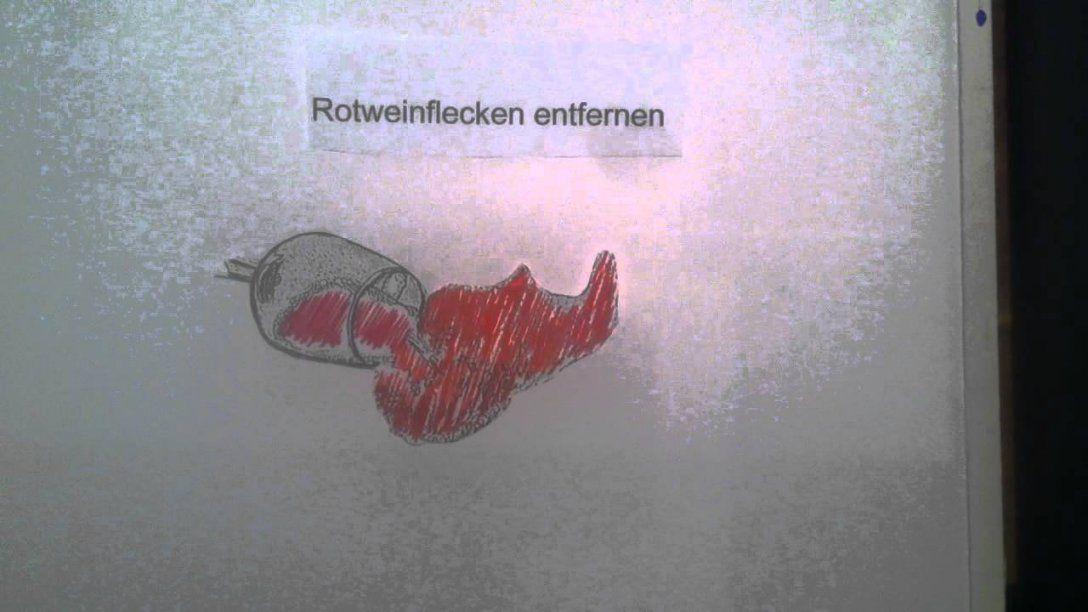 Rotweinflecken Entfernen  So Gehts  Youtube von Rotweinflecken An Der Wand Photo