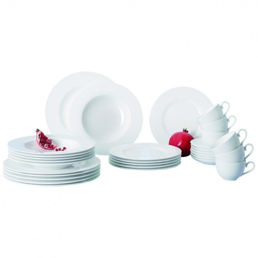 Royal 30Piece Bone Porcelain Set  Villeroy & Boch von Villeroy & Boch Royal Basic Set 30 Tlg Bild