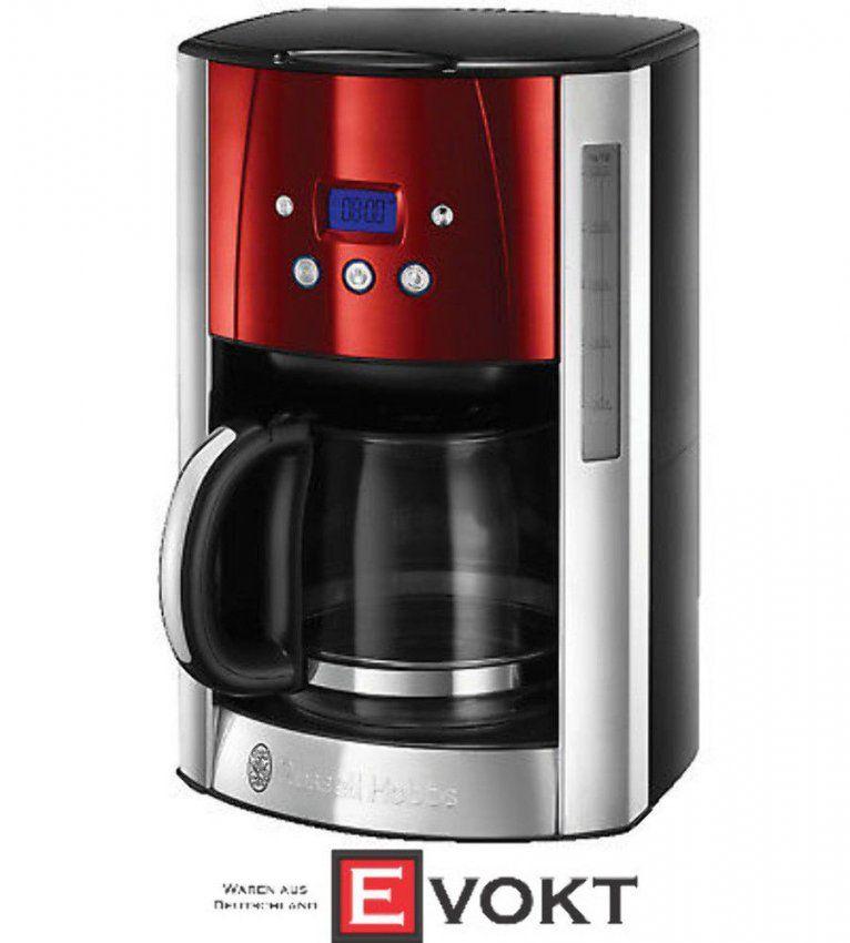 Russell Hobbs 2324056 Rh Luna Solar Coffee Machine Stainless von Russell Hobbs Kaffeemaschine Glass Line Bild