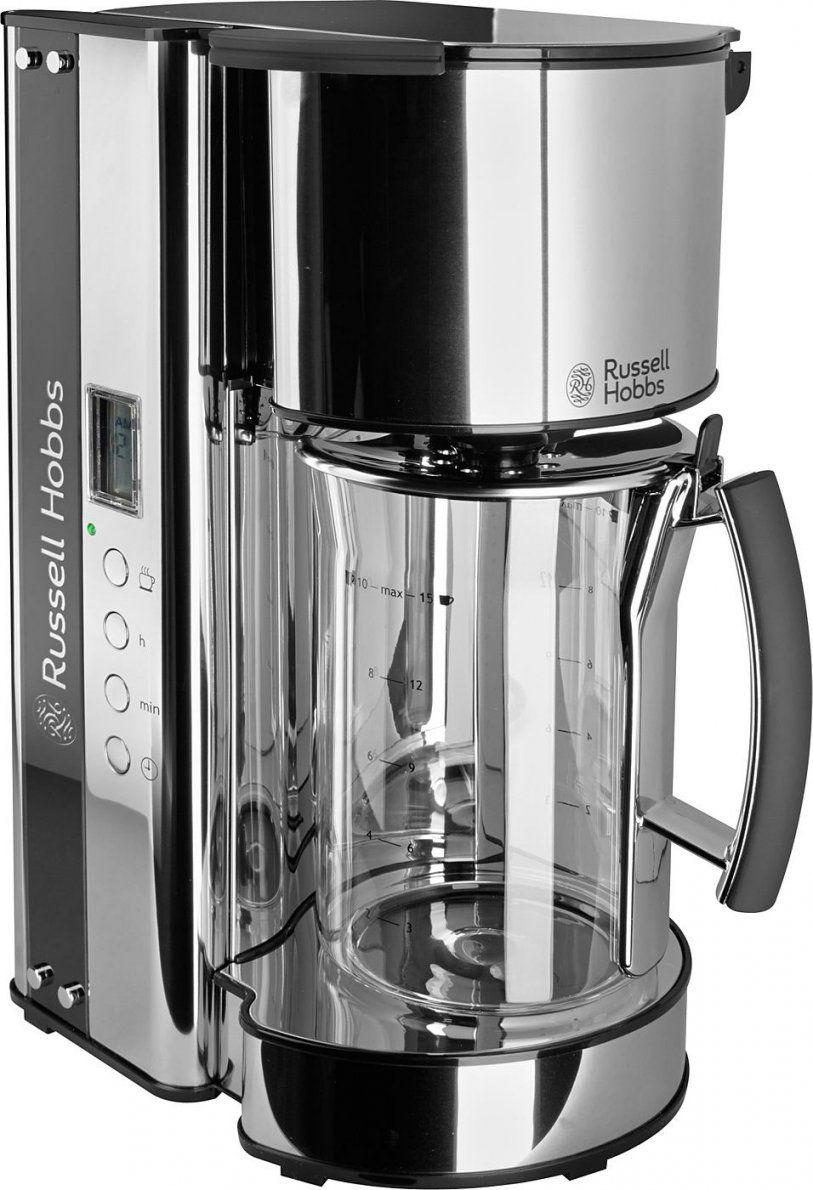 Russell Hobbs Glaskaffeemaschine Black Glass 1965056 1090 Watt von Russell Hobbs Kaffeemaschine Glass Line Bild