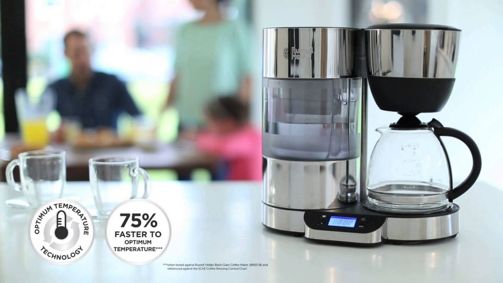 Russell Hobbs Uk  Purity Brita Filter Coffee Maker  Youtube von Russell Hobbs Kaffeemaschine Glass Line Bild